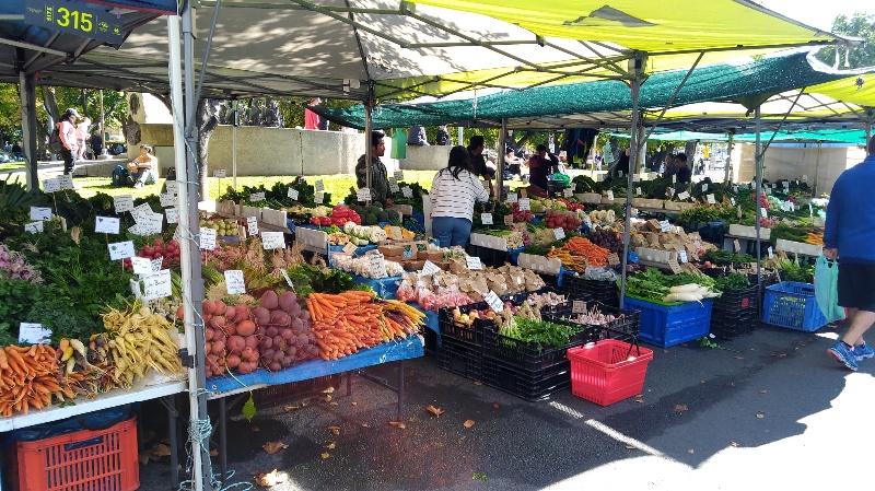 サラマンカマーケット 野菜