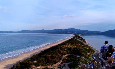 ブルニー島の観光地