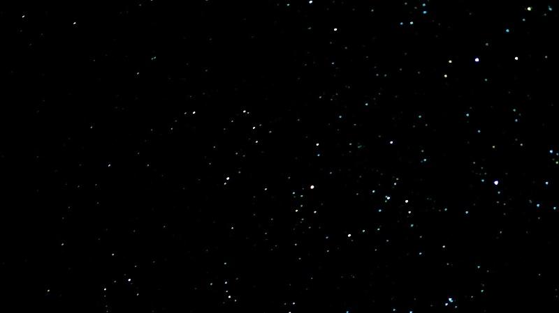 ブルニー島の星空