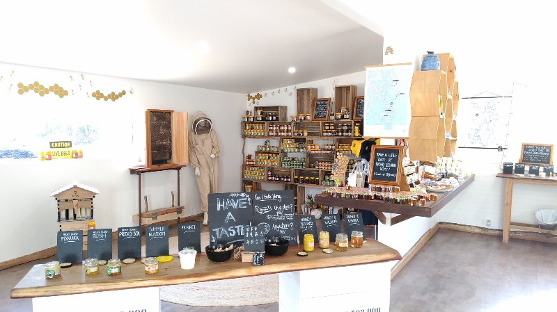 Bruny Island Honey 店内