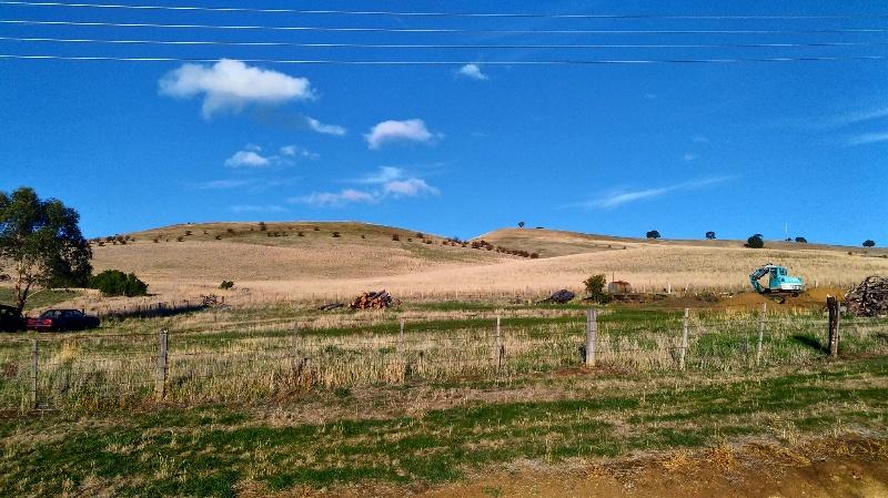 地平線の向こうまで続く、広大な草原