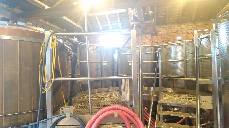 発酵させるタンク