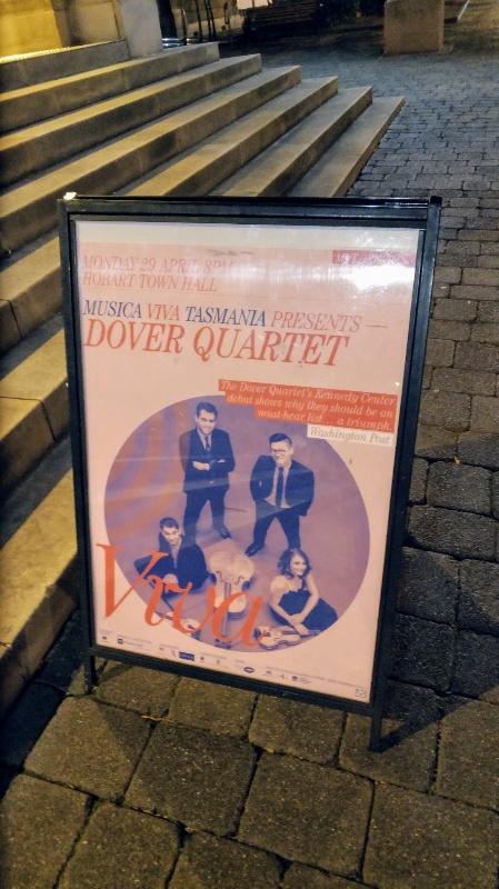 ドーバーカルテットのポスター看板