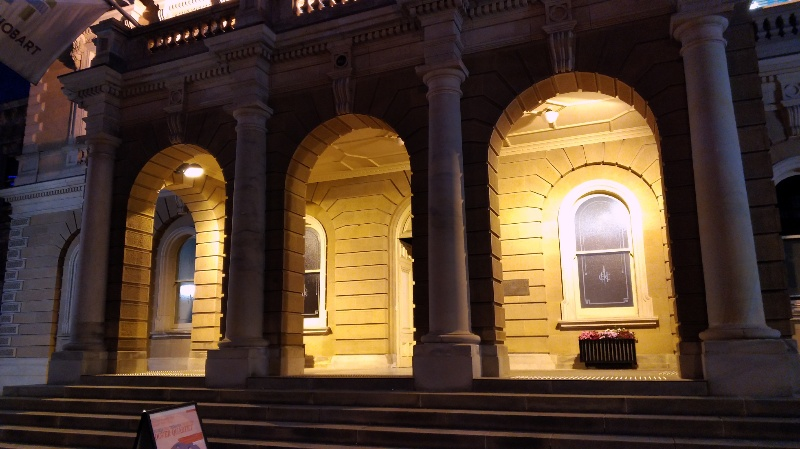 Hobart Town Hall 正面
