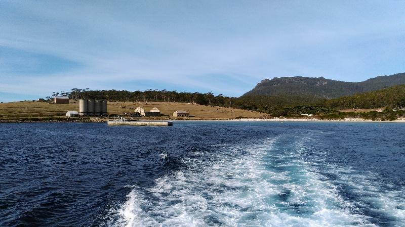 さらばマリア島。