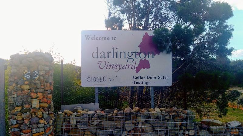 darlington vineyard 看板