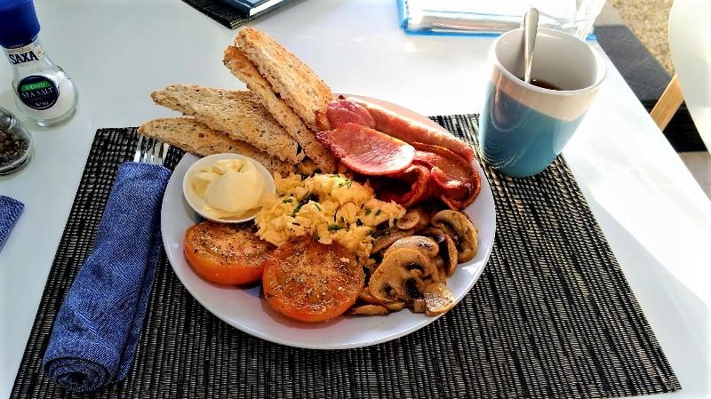 美味しかった朝食