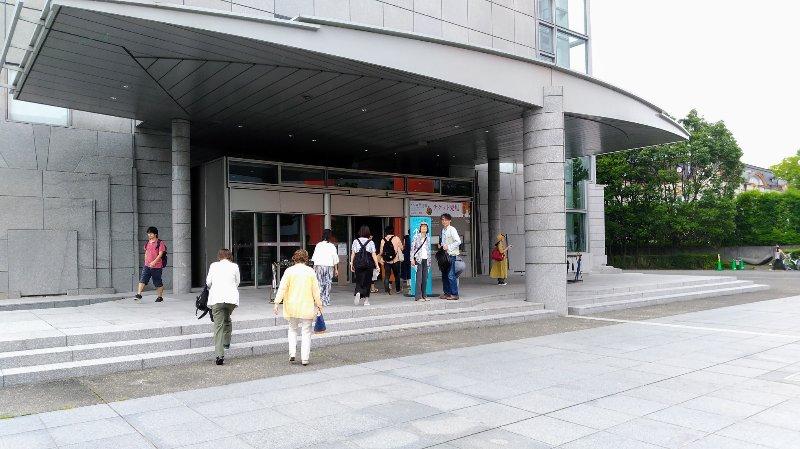 京都国立近代美術館 入口